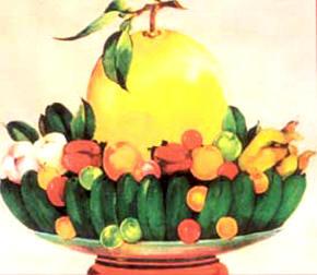 供物の果物5種